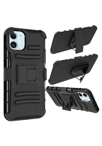 Armor Kickstand Holster Clip Case for iPhone 12 Mini