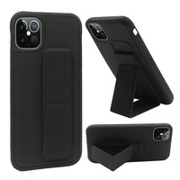 Premium PC TPU Foldable Magnetic Kickstand Case for iPhone 12 Pro Max