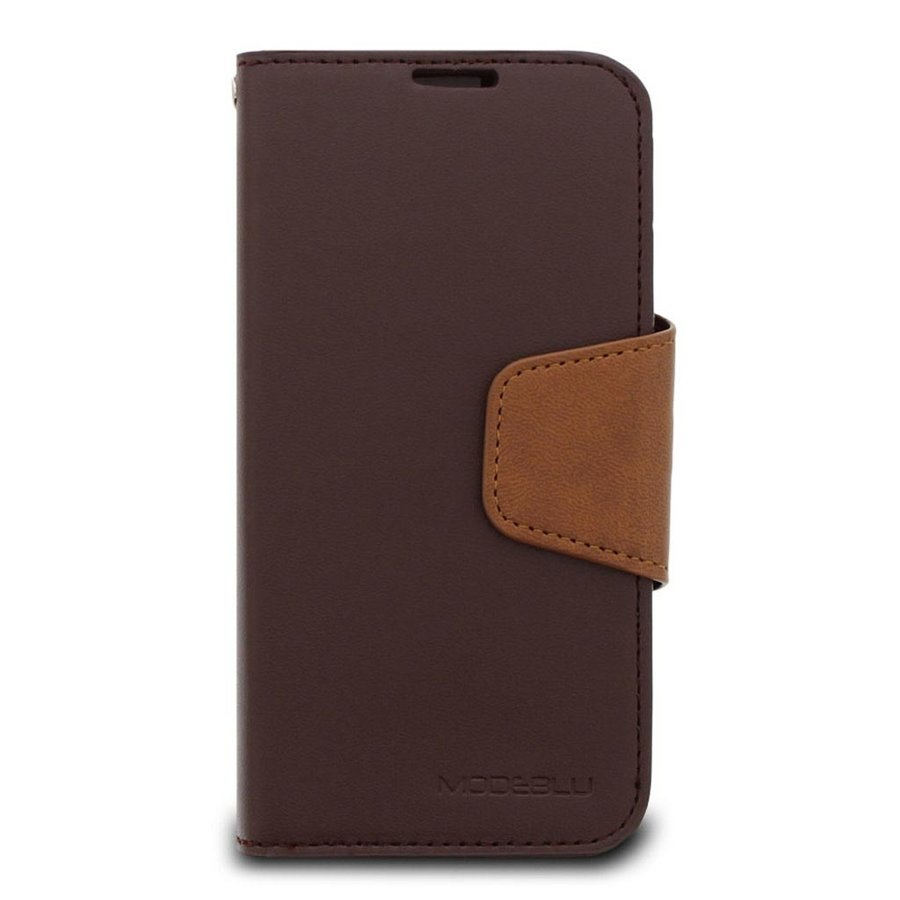 ModeBlu PU Leather Wallet Classic Diary Case for iPhone 12 / 12 Pro