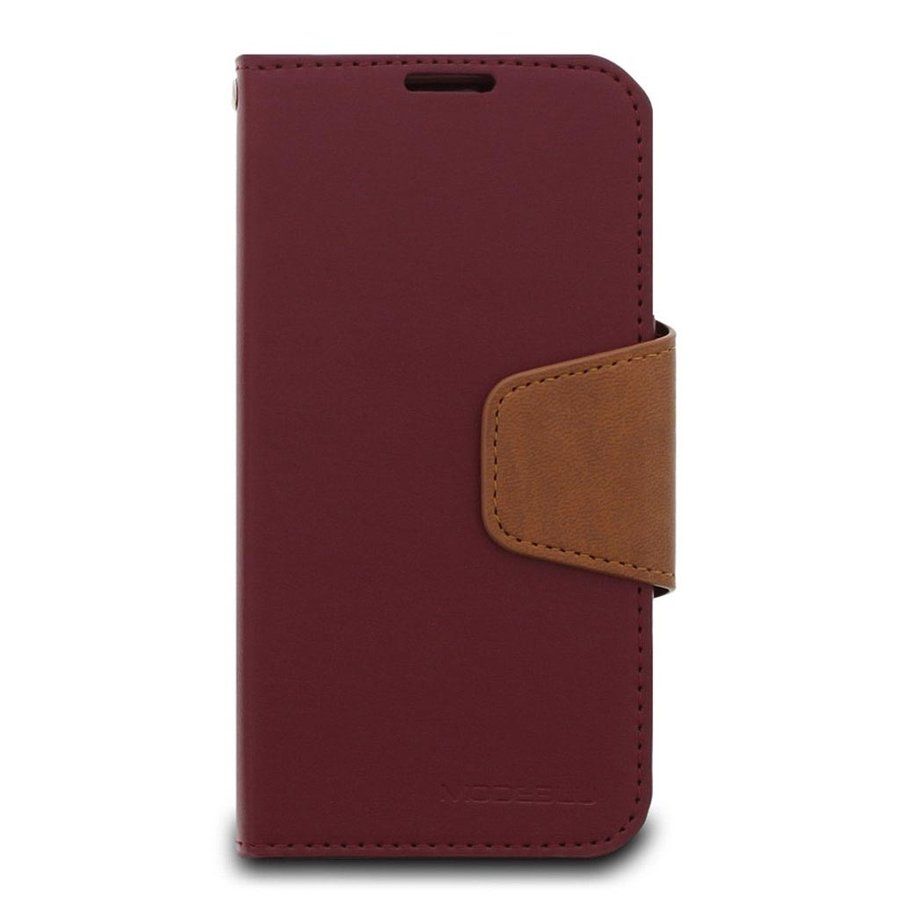 ModeBlu PU Leather Wallet Classic Diary Case for iPhone 12 Pro Max