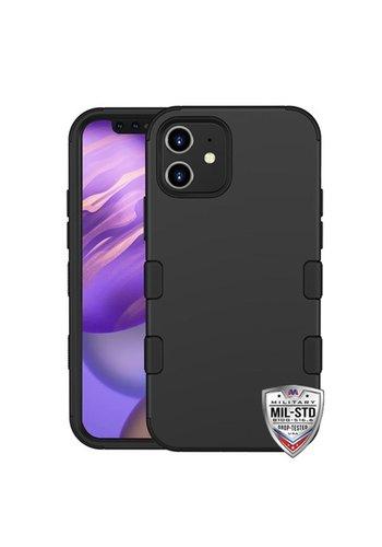 MYBAT TUFF Titanium Hybrid Protector Case [Military-Grade Certified] for iPhone 12 Mini