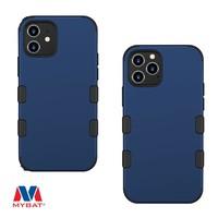 MYBAT TUFF Titanium Hybrid Protector Case [Military-Grade Certified] for iPhone 12 / 12 Pro
