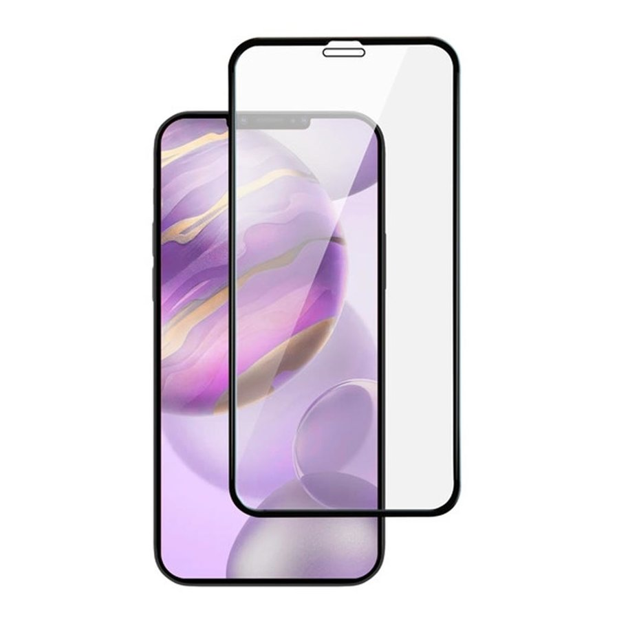 4D Full Cover Tempered Glass for iPhone 12 / 12 Pro