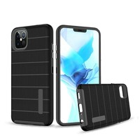 PC TPU Shock Proof Hybrid case with Stripes Design for iPhone 12 Pro Max