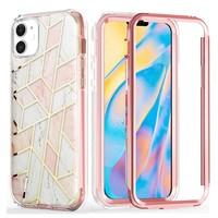PC TPU Craze Fortune Marble Design case for iPhone 12 Mini (5.4)