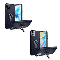 ShockProof Mag-Ring Case with Car Vent  Holder for iPhone 12 / 12 Pro (6.1)