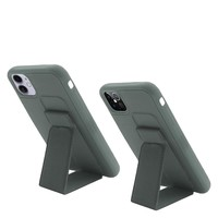 Premium PC TPU Foldable Magnetic Kickstand Case for iPhone 12 / 12 Pro