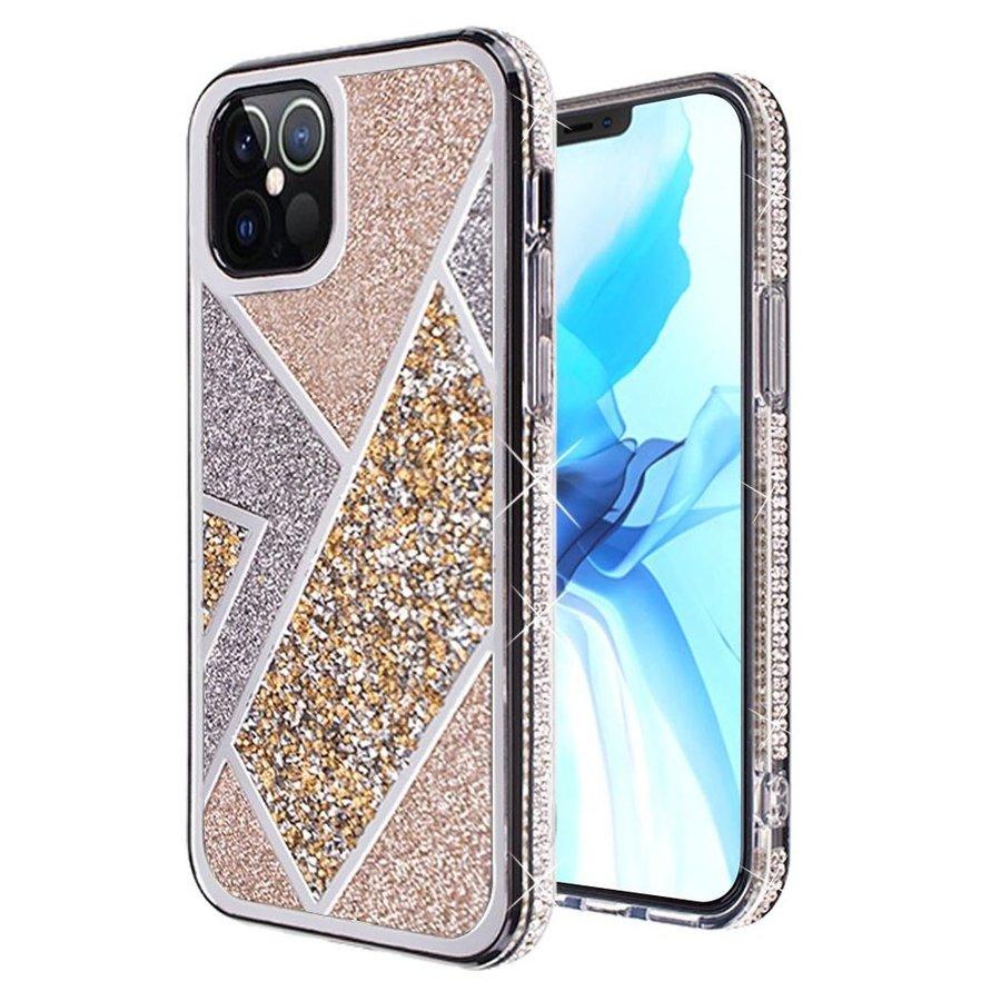 Rhombus Glitter Diamond Design Case for iPhone 12 Pro Max