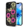 Transparent Pink Daisy Design Case for iPhone 12 Pro Max