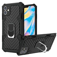Victory Rugged Design Case with Mag-Ring Stand for iPhone 12 Mini