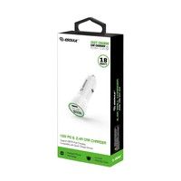 ESOULK   Dual Port USB C & USB Car Charger Adapter