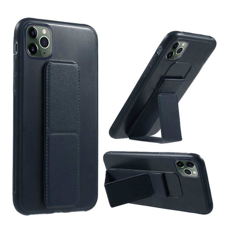 Premium PC TPU Foldable Magnetic Kickstand Case for iPhone 11 Pro