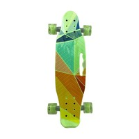 Skateboard with Light-Up Wheels