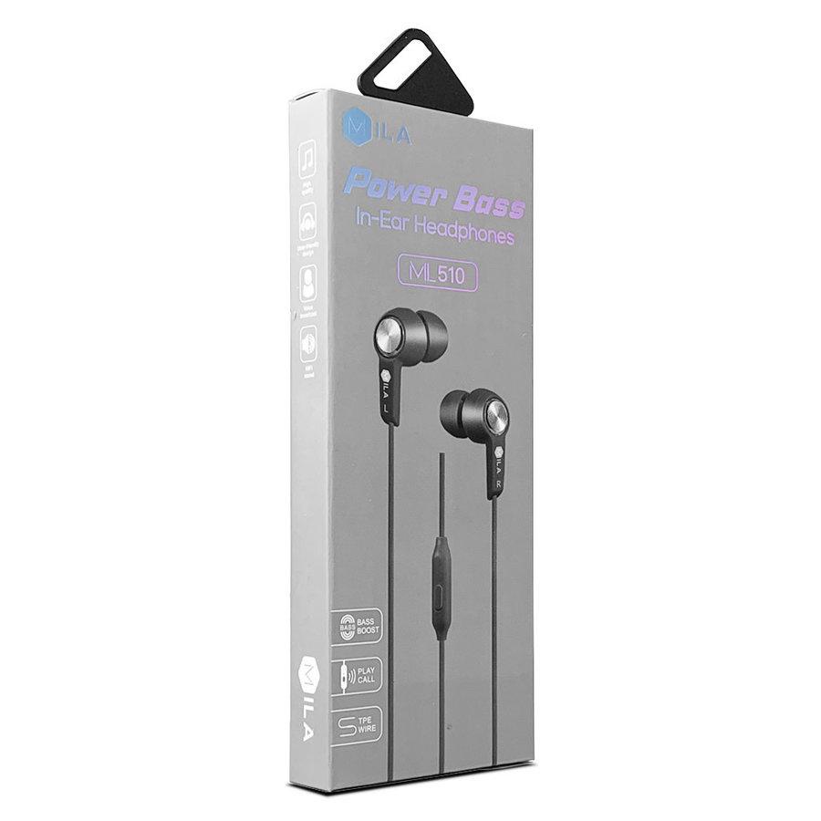 MILA | Power Bass In-Ear Headphones ML510