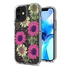 Transparent Pink Daisy Design Case for iPhone 11