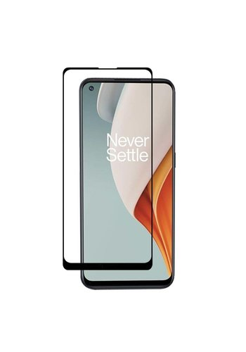 4D Full Cover Tempered Glass for OnePlus Nord N100