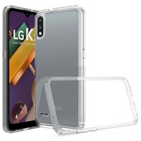 Ultra Slim Clear Hard Fused PC+TPU Case for LG K22