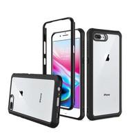 Novel Transparent Shockproof Bumper Case for iPhone 8 Plus / 7 Plus / 6 Plus