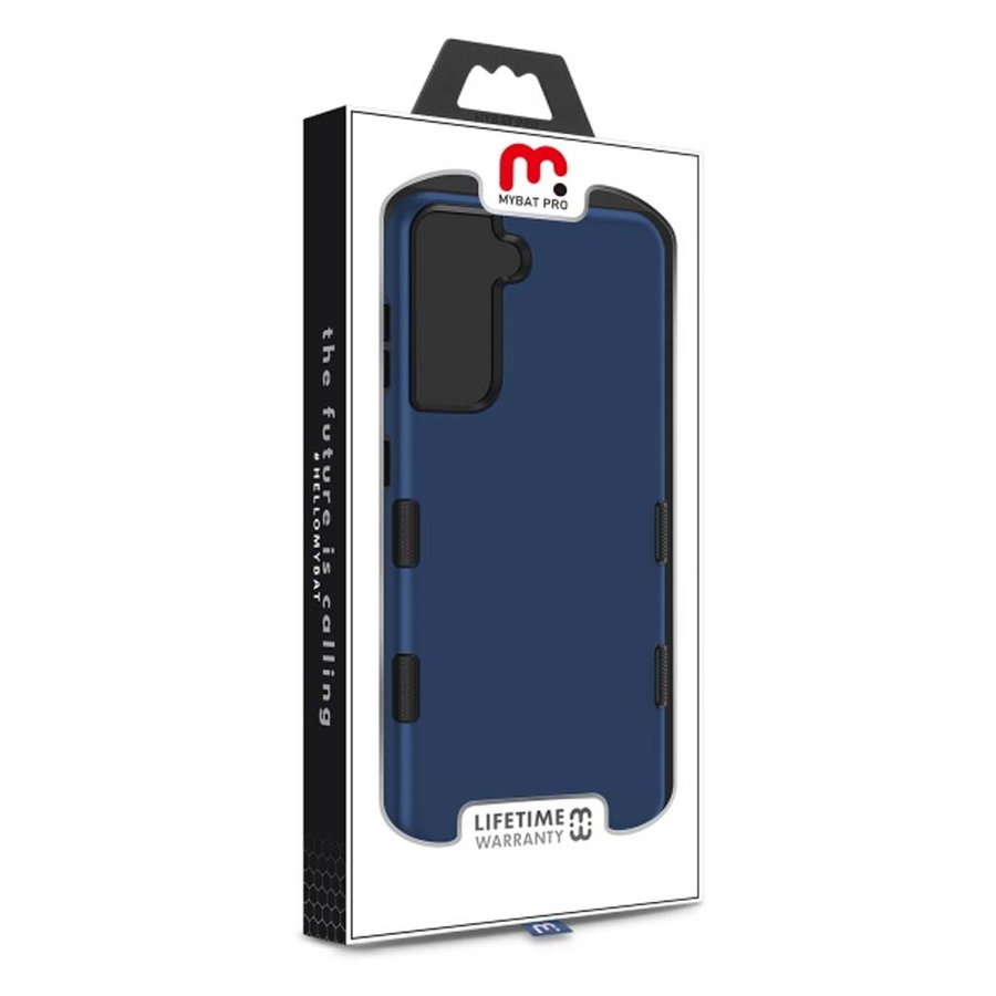 MYBAT TUFF Titanium Hybrid Protector Case [Military-Grade Certified] for Galaxy S21  Plus