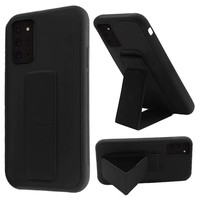 Premium PC TPU Foldable Magnetic Kickstand Case for Galaxy Note 20