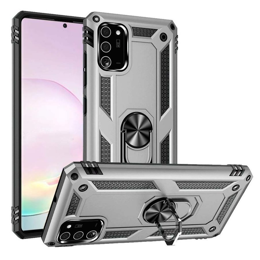 Slim Hybrid PC TPU Magnetic Ring Case for Galaxy Note 20 Plus