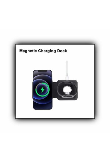APFEL   2 in 1 Wireless Magnetic Charging Dock (LFX-163)