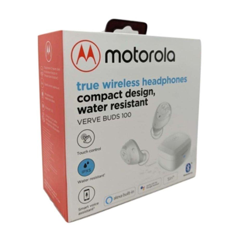 Motorola Verve Buds 100 True Wireless Earphones Compact Design Water Resistant