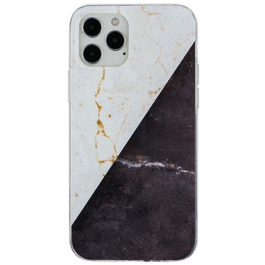 KASEAULT | Hard TPU  Electroplated Vintage Marble Design Case for iPhone 12 Pro Max