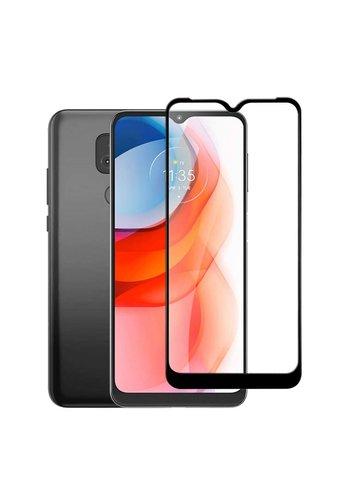 4D Full Cover Tempered Glass for Motorola Moto G Play (2021)