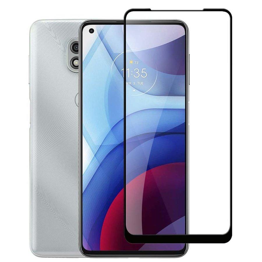 4D Full Cover Tempered Glass for Motorola Moto G Power (2021)