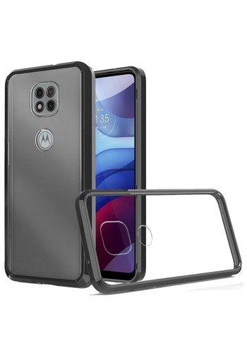 Ultra Slim Clear Hard Fused PC+TPU Case for Motorola Moto G Power (2021)