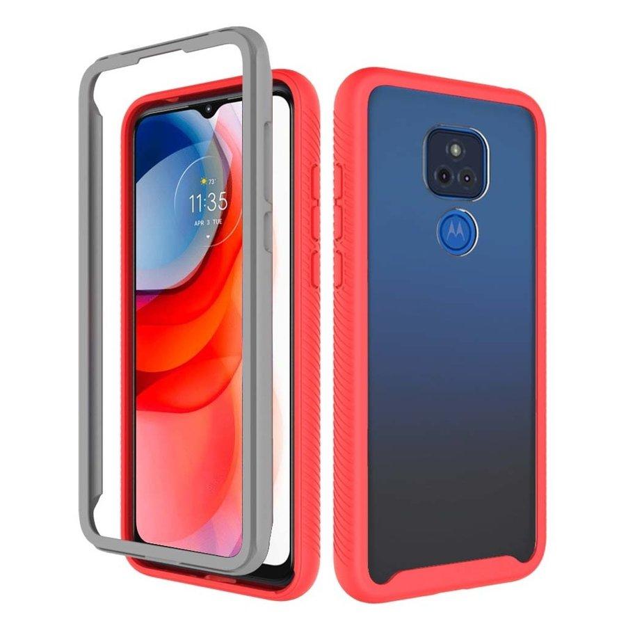 Heavy Duty Shockproof Bumper Case for Motorola Moto G Play (2021)