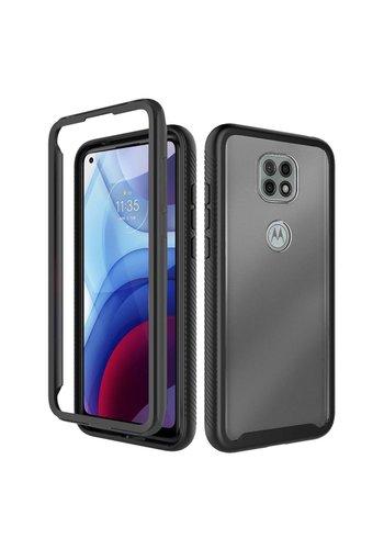 Heavy Duty Shockproof Bumper Case for Motorola Moto G Power (2021)