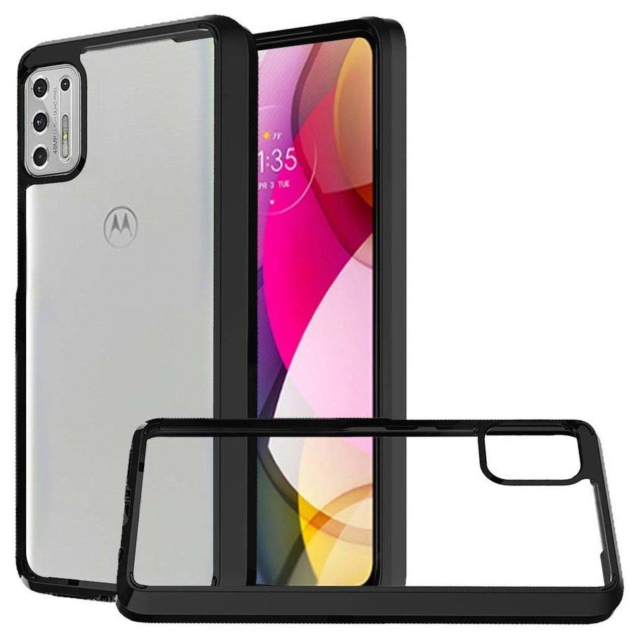 Ultra Slim Clear Hard Fused PC+TPU Case for Motorola Moto G Stylus (2021)