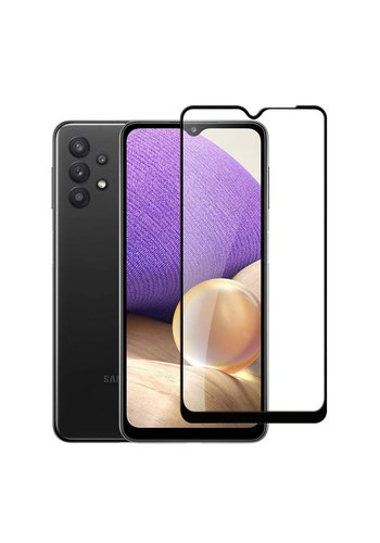 4D Full Cover Tempered Glass for Galaxy A32 5G / A12