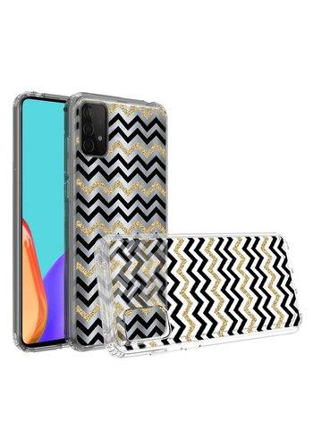 KASEAULT | Transparent ShockProof ZigZag Design Case for Galaxy A52 5G