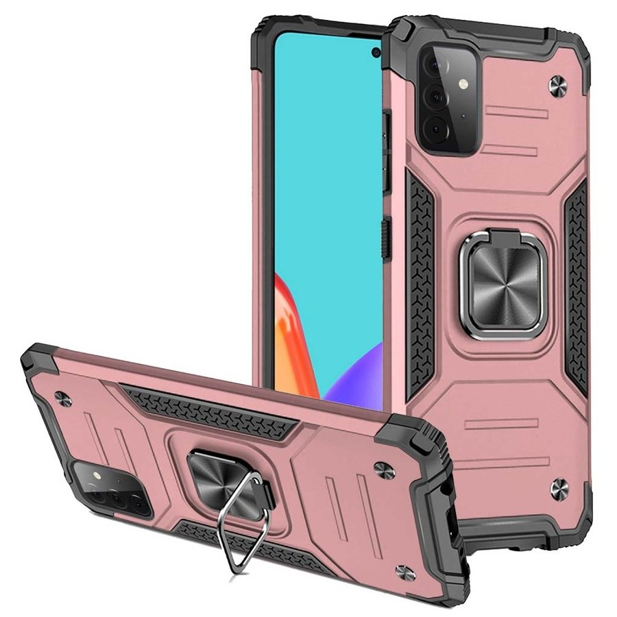 Robust Armor Case with MagRing Kickstand for Galaxy A52 5G
