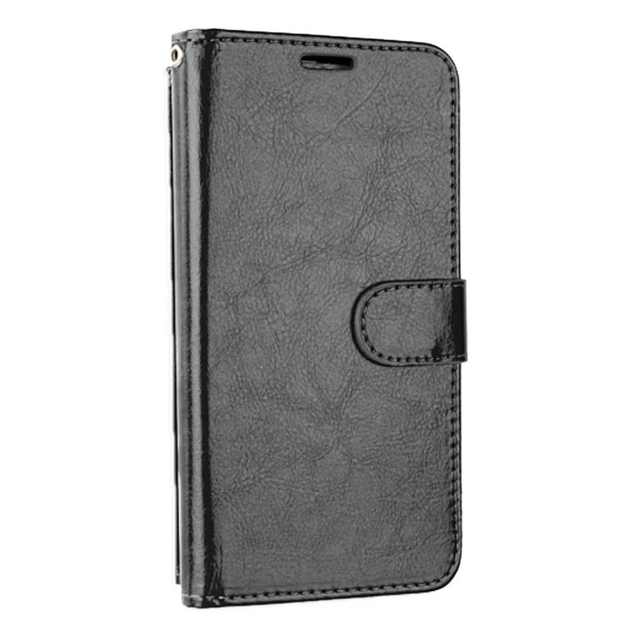 Hybrid PU Leather Flip Cover Case Wallet with Credit Card Slots for iPhone 11