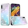 Vogue Epoxy Glitter Calm Shimmer Design Case for LG K22