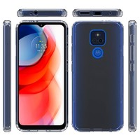Clear Hybrid ShockProof Case for Motorola Moto G Play (2021)