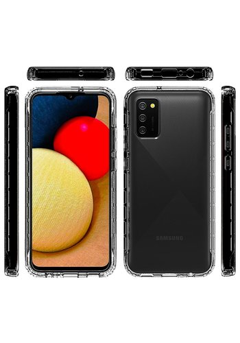 Clear Hybrid ShockProof Case for Galaxy A02s