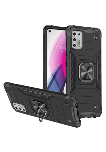 Robust Armor Case with MagRing Kickstand for Motorola Moto G Stylus (2021)