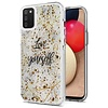 Magnificent Love Yourself Glitter Design Case for Galaxy A02s
