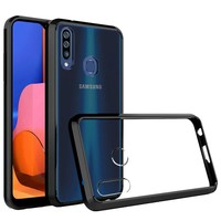 Ultra Slim Clear Hard Fused PC+TPU Case for Galaxy A02s