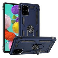 Slim Hybrid PC TPU Magnetic Ring Case for Galaxy A51 4G*