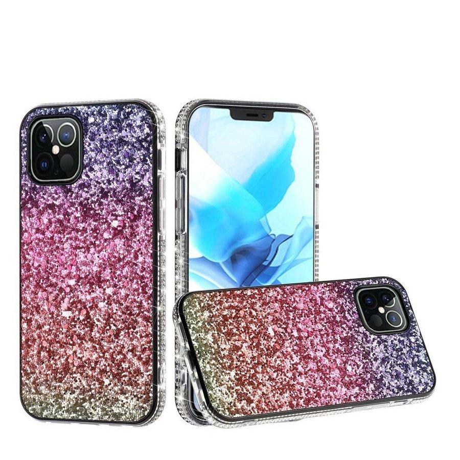 Decorative All Around Diamond  Glitter Case for iPhone 12 / 12 Pro