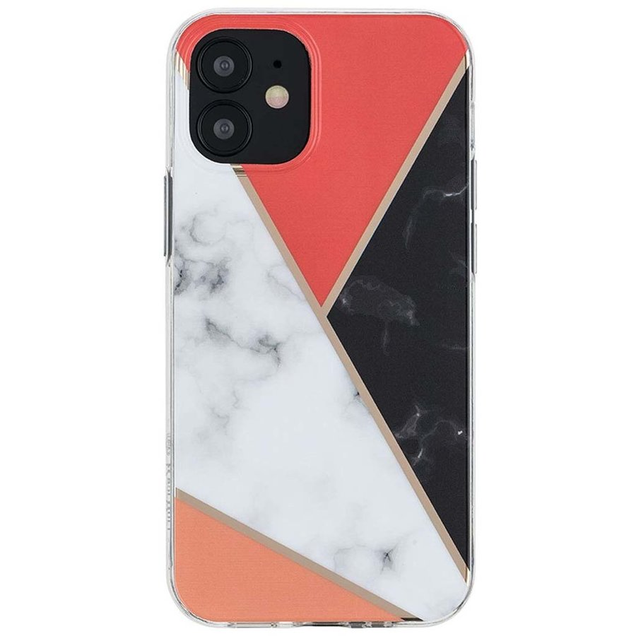 KASEAULT | Hard TPU  Electroplated Power Marble Design Case for iPhone 12 Pro Max