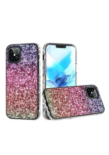 Decorative All Around Diamond  Glitter Case for iPhone SE (2020) / 8 / 7