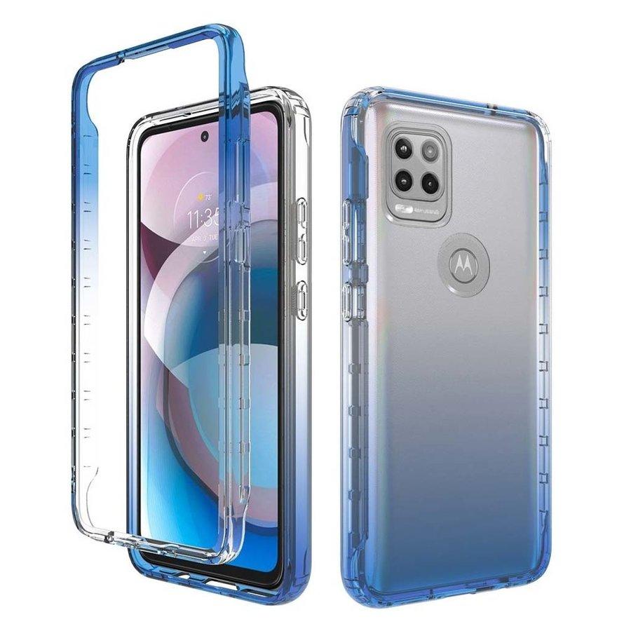 Two Tone Transparent Shockproof Case for Motorola Moto G Stylus (2021) 5G