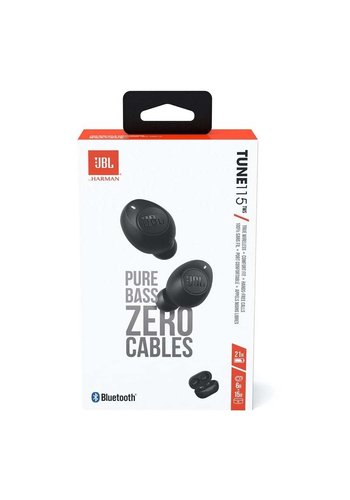JBL   Tune 115 TWS Pure Bass Zero Cables